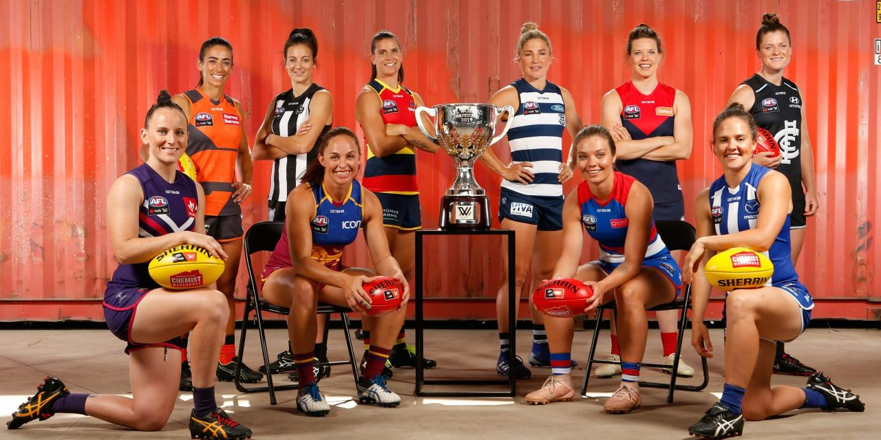 AFLW = great sports action