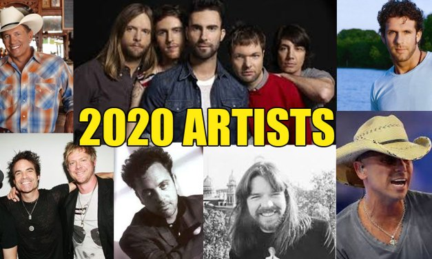 Chris Doelle's 2020 Top Artists
