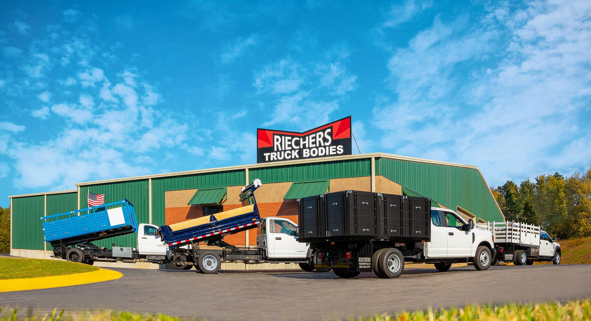Custom Truck Bodies Truck Beds By Riechers Truck Bodies