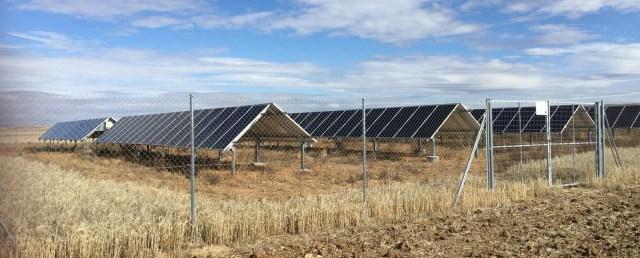 Campo fotovoltaico bombeo solar villalonso zamora