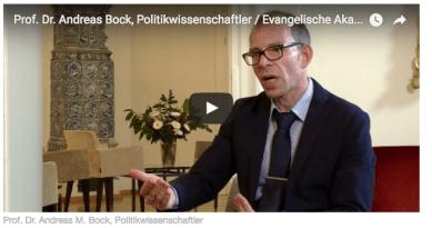 Politikwissenschaftler Andreas M. Bock