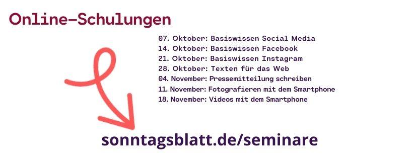 Seminare Sonntagsblatt
