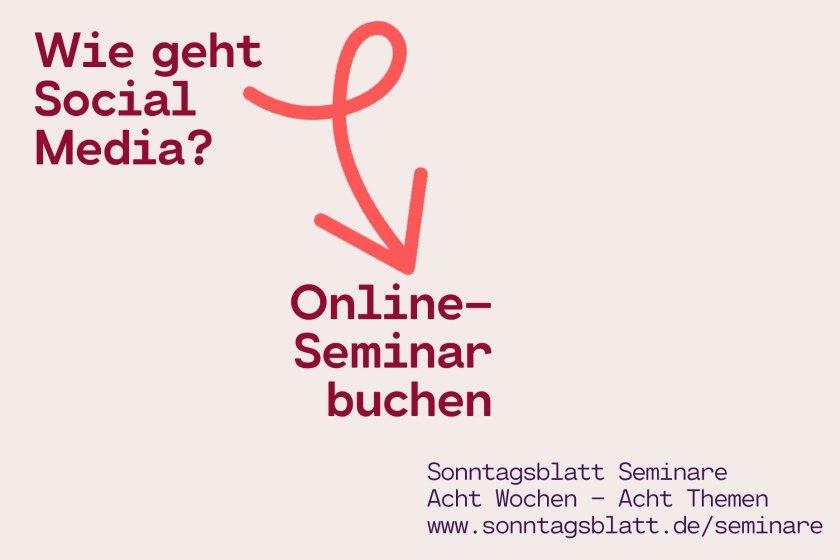 Online-Seminar Kirche Diakonie Social Media