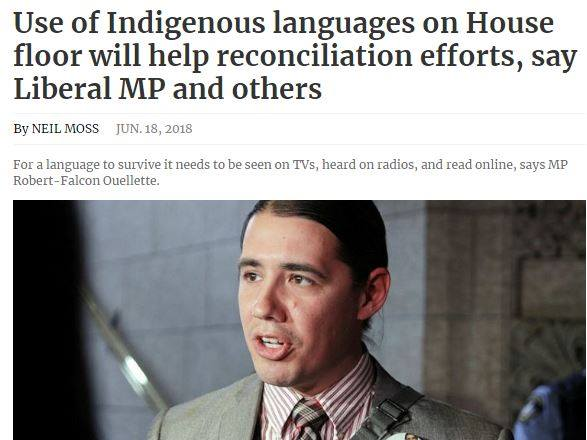 We are on board with this! Our script has 5 languages, including 3 Indigenous.