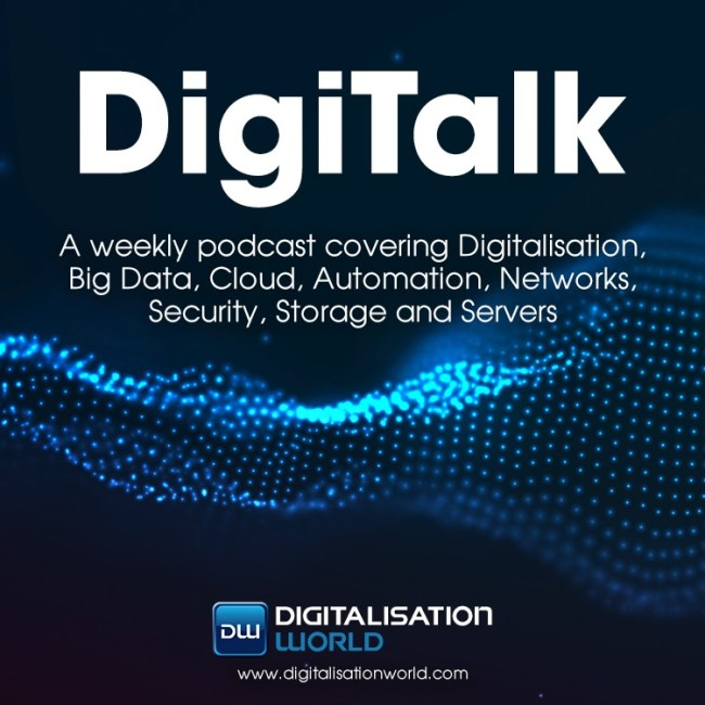 Digitalisation World 'DigiTalk' podcast logo