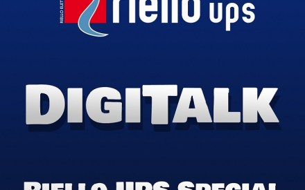 Digitalisation World 'DigiTalk' podcast logo for special edition about Edge Computing with Riello UPS