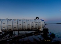micrsoft project natick shipping container-style data centre sunk into sea off Orkney Islands Scotland