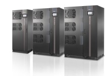 NextEnergy (NXE) power supplies by Riello UPS. (left to right 250kVA, 300 kVA, 400kVA)