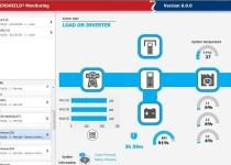 screenshot from PowerShield3 UPS remote management software
