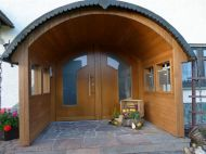 Haustür mit Vordach 01