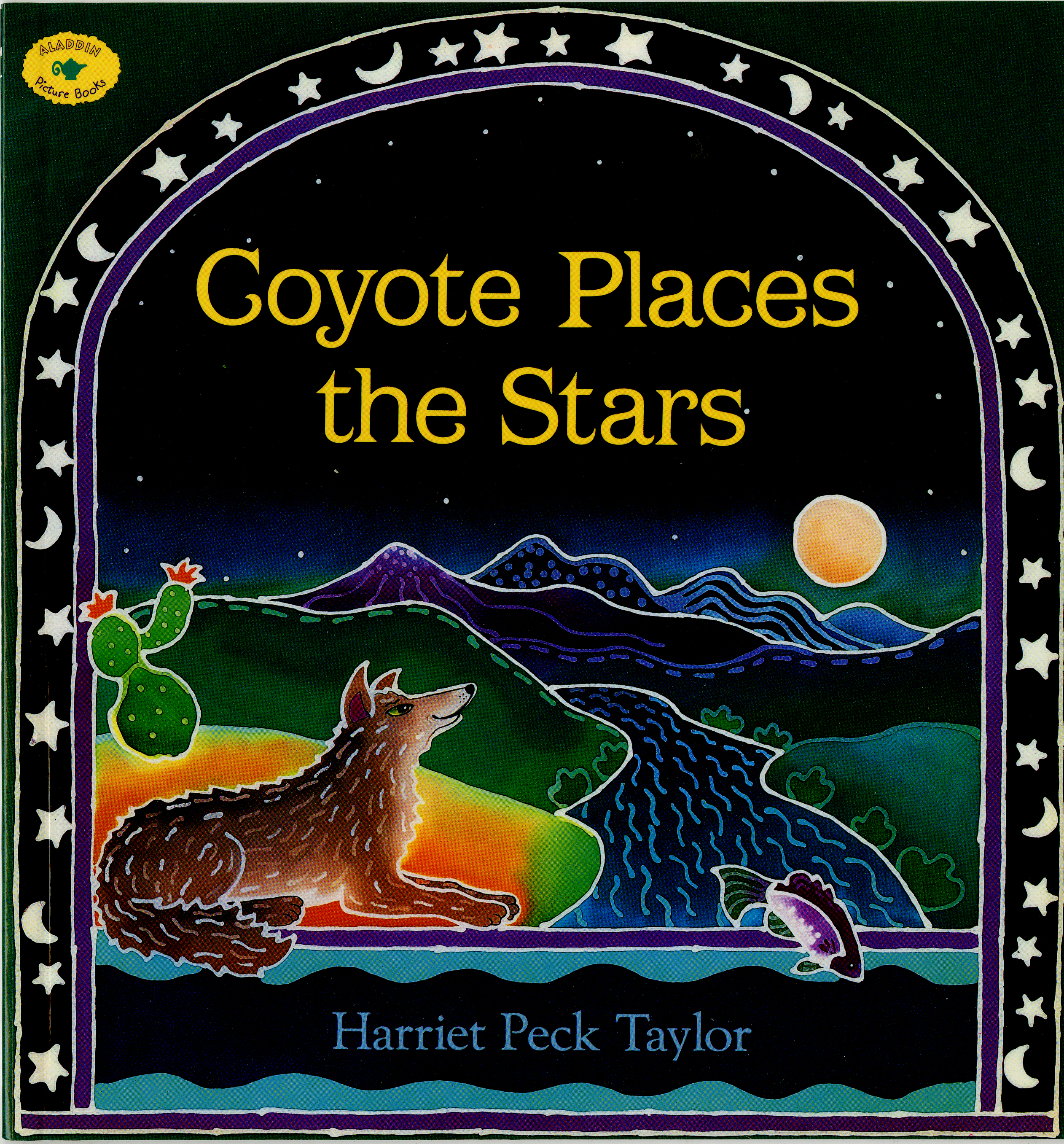 Coyote Places The Stars Printables Classroom Activities
