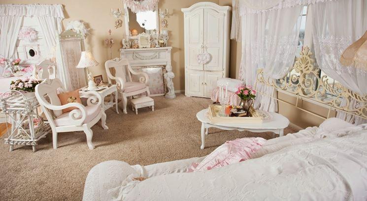 Tenda pacchetto ikea in tessuto, con motivo floreale per dare un tocco chic alla camera da letto. Tende Shabby Chic Tende Idee Per Tende Shabby Chic