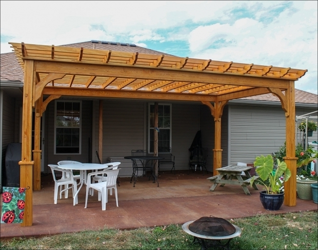 Adjustable Retractable Pergola