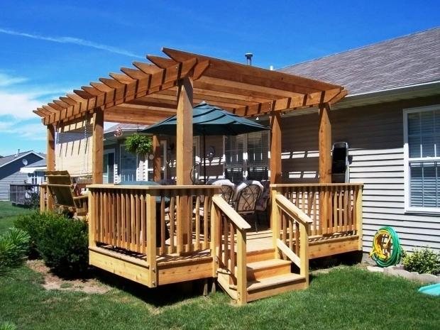 How To Build A Pergola Over A Deck - Pergola Gazebo Ideas on Deck Over Patio Ideas id=14091