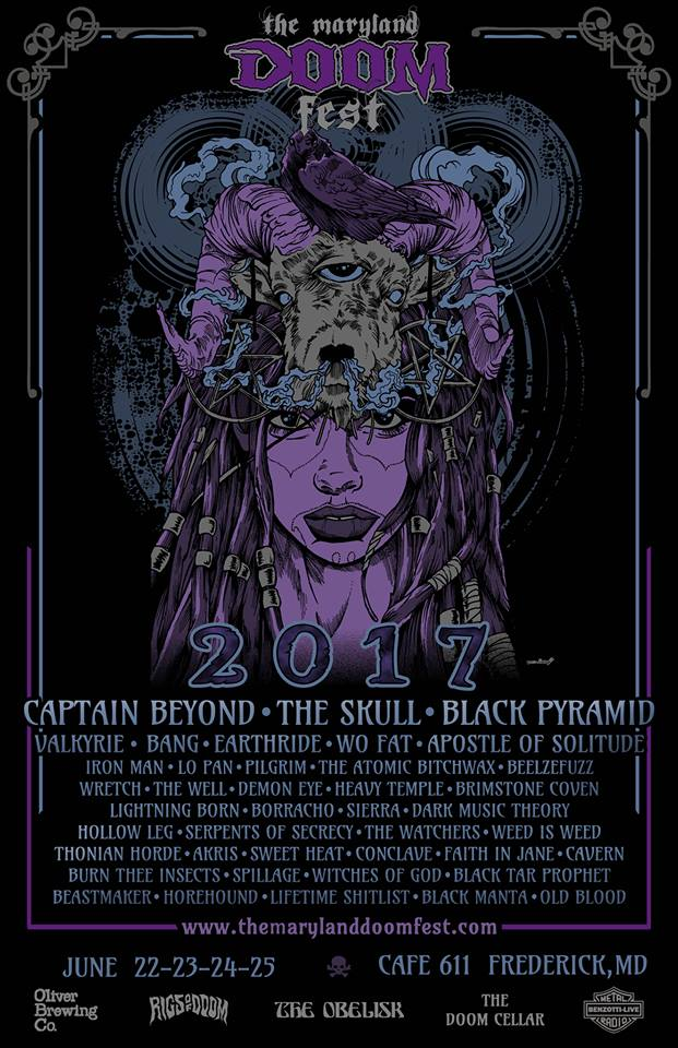 The Maryland Doom Fest 2017