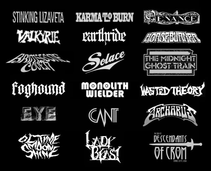 Descendants Of Crom Fest - Band Lineup
