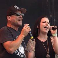 Pro Vid Of Whitfield Crane (Ugly Kid Joe) & Amy Lee (Evanescence) 'Cats In The Cradle' Graspop Duet