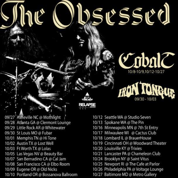 The Obsessed Tour 2017