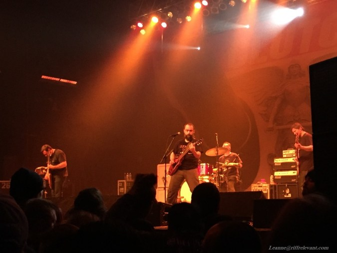 Clutch live photo by Leanne