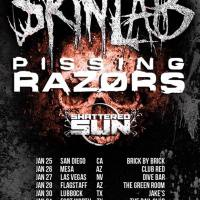 SKINLAB Announces 'Brothers In Blood Tour' With PISSING RAZORS & SHATTERED SUN