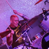 FOUR ON THE FLOOR #4: JON BARRYSMITH of YEAR OF THE COBRA - Brendan Burns' Drummer Spotlight; Live Photos From Psycho Las Vegas