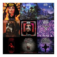 KING DIAMOND Picture Disc Vinyl Reissues Of 'In Concert 1987: Abigail', 'The Spider's Lullabye', & 'The Graveyard'