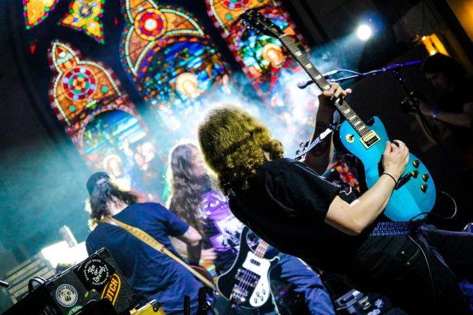 Wasted Theory - The Stone Church in Brattleboro, VT, 05/26/2018. Photo: Leanne