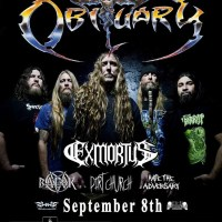 Show Review: OBITUARY, EXMORTUS, DIRT CHURCH; Sept. 8th @ UCH, Clifton Park, NY [Videos]