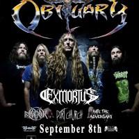Live Review: OBITUARY, EXMORTUS, DIRT CHURCH [Clifton Park, NY, 9/8/2018]