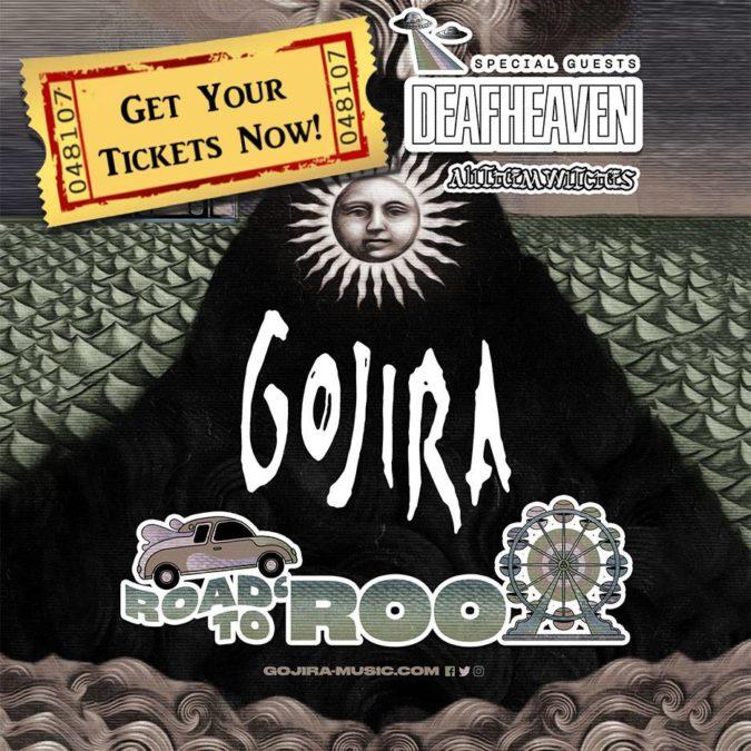 Gojira tour promo