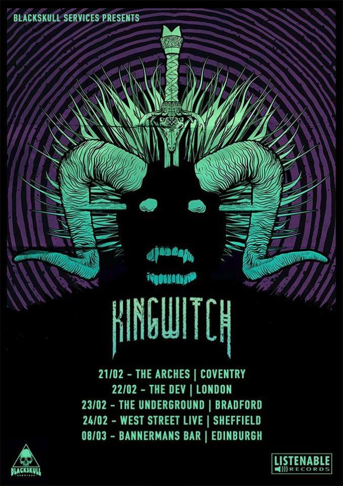 King Witch UK Tour 2019