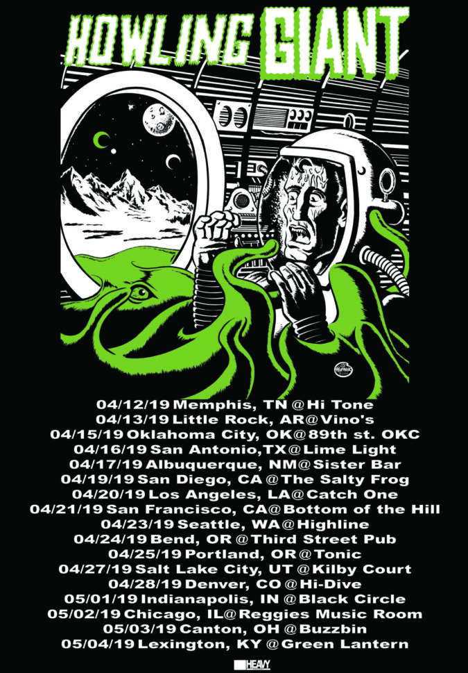 Howling Giant Tour