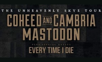 Mastodon Coheed And CambriaTour