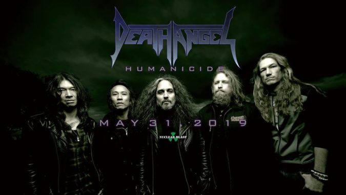 DEATH ANGEL 'Humanicide' Album Due In May; Title Track + U.S. Tour w/ OVERKILL & ACT OF DEFIANCE