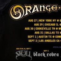ORANGE GOBLIN U.S. Tour w/ THE SKULL; Muddy Roots Festival