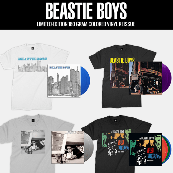 Beastie Boys Reissue