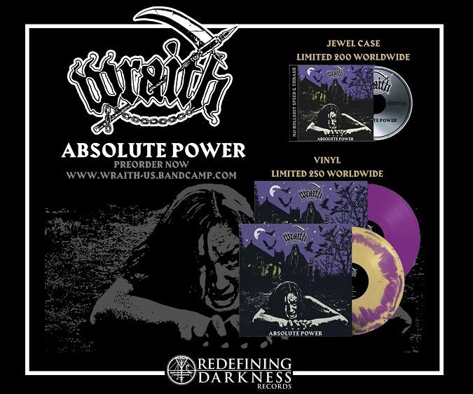 Wraith Absolute Power promo