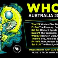 WHORES. Confirm First Australia Tour For Spring 2020