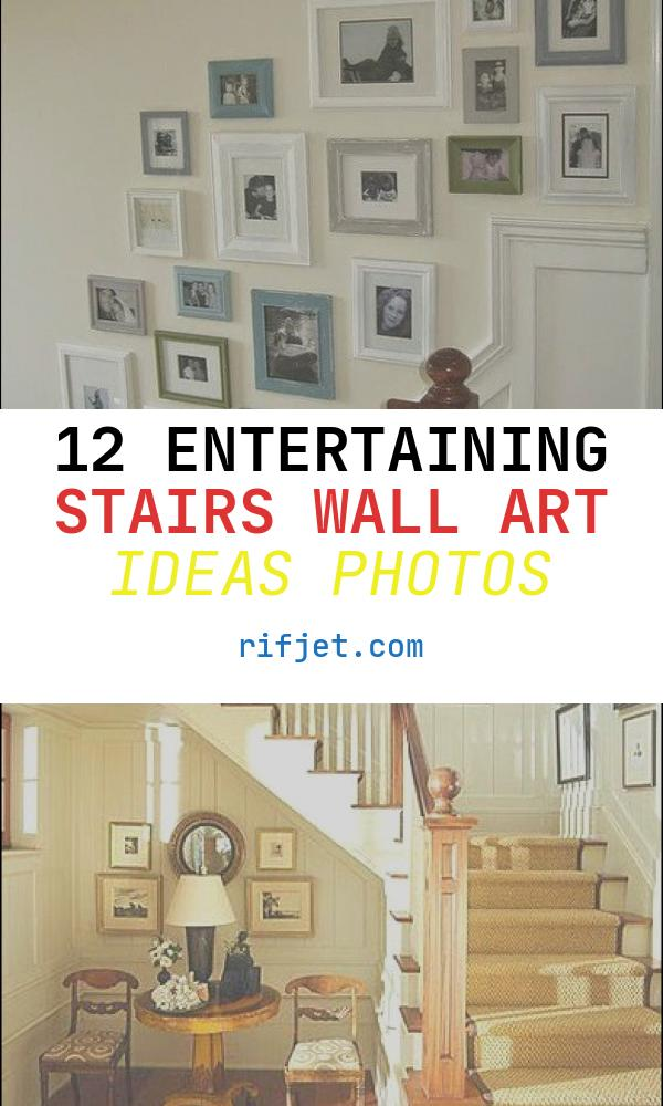 12 Entertaining Stairs Wall Art Ideas Photos - Stairs ... on Creative Staircase Wall Decorating Ideas  id=71073