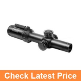 Click to open expanded view      Bushnell AR Optics FFP Illuminated BTR-1 BDC Reticle AR-223 Riflescope with Target Turrets and Throw Down PCL, 1-4x 24mm