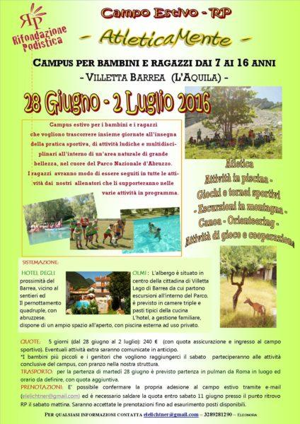 Campo Estivo 2016 bis
