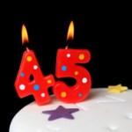 stock-photo-14302068-45th-birthday-candles