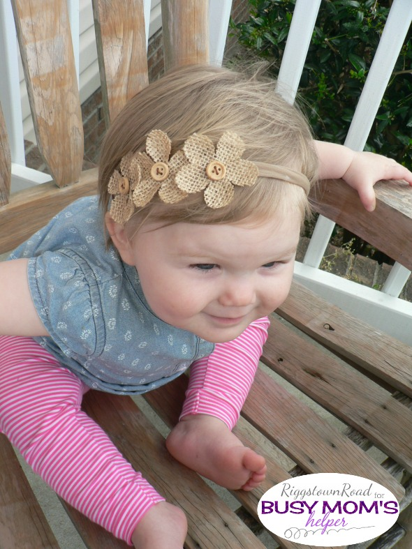 No-Cost Headband by Riggstown Road for Busy Mom's Helper