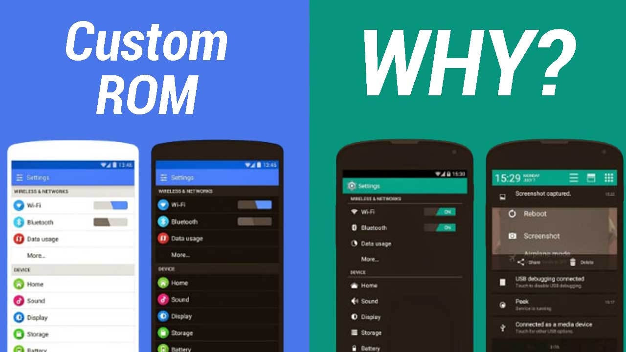 Why You Should Use Custom ROM instead of Stock ROM in 2018