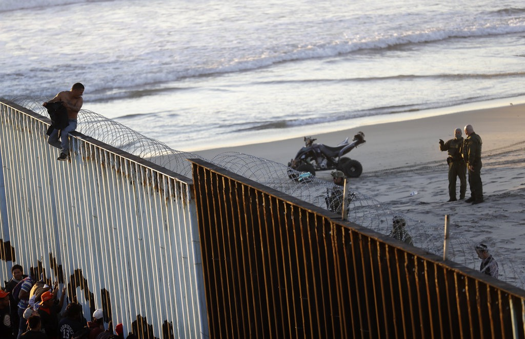 Border Patrol arrests members of migrant caravan for illegal entry at Calif.-Mexico border