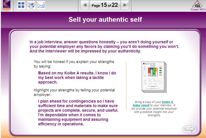 Career-MO-Report-Kolbe-sell-your-authentic-self
