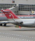 Northwest Airlines terminal at Detroit Metropolitan Airport