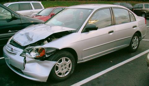 Image result for images of car hitting a deer