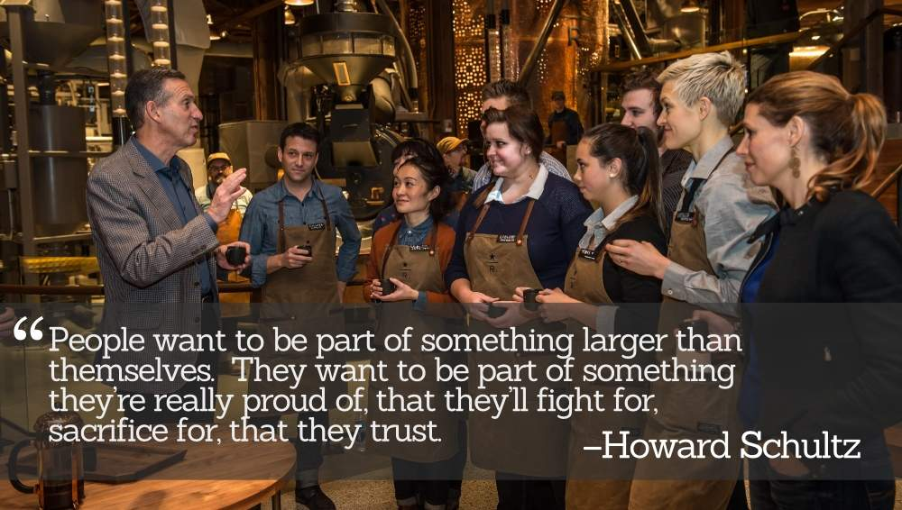 Lessons on Employee Engagement from Howard Schultz's 'Pour Your Heart Into It'
