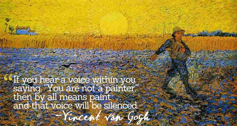 Vincent van Gogh - Sower with the Setting Sun